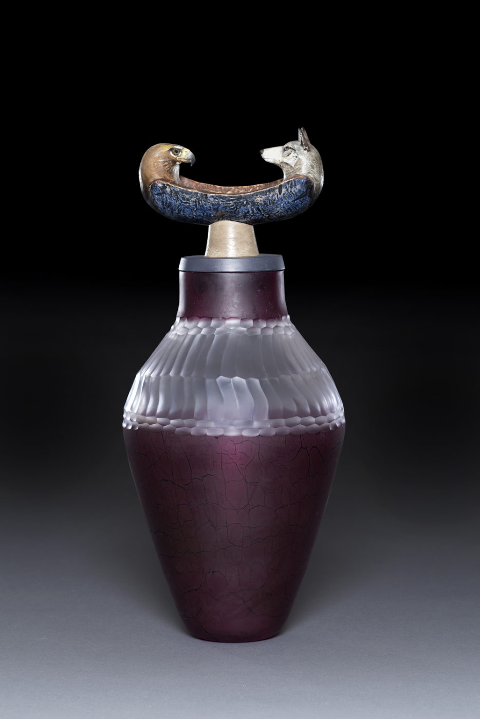 Spirit Canoe Jar