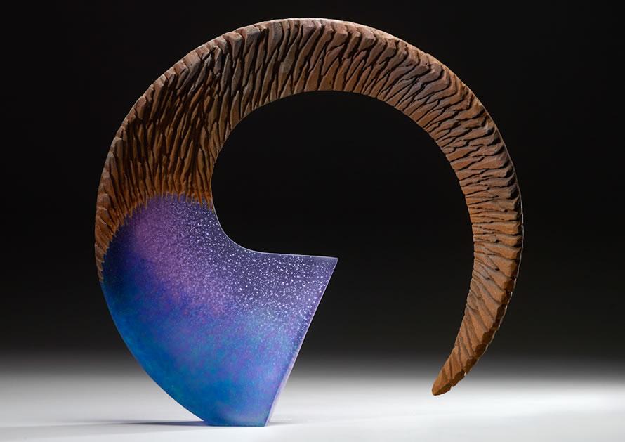Alex Gabriel Bernstein modern glass art