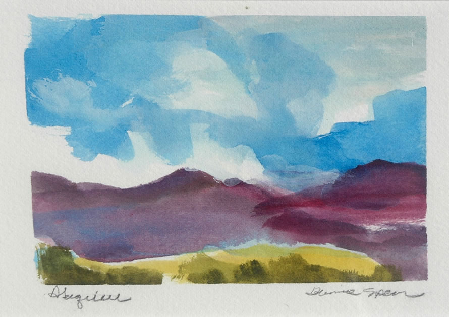 Bonnie Spear southwest watercolors