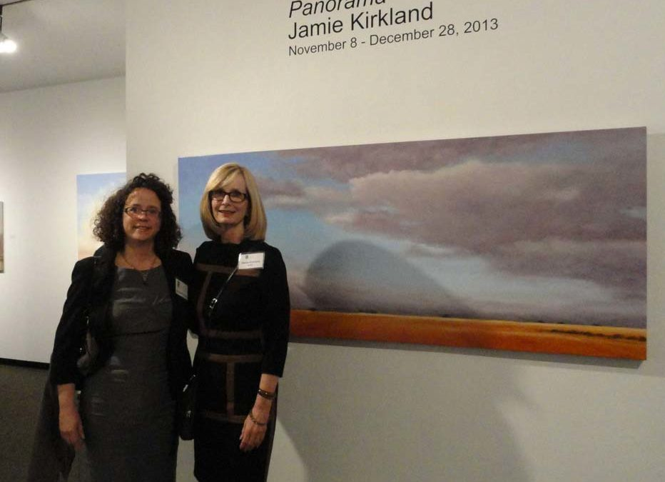 Jamie Kirkland exhibition at the Fort Worth Community Art Center