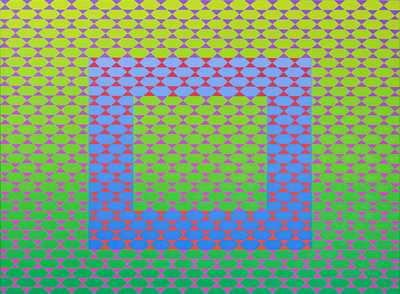 ANNELL LIVINGSTON neo op art