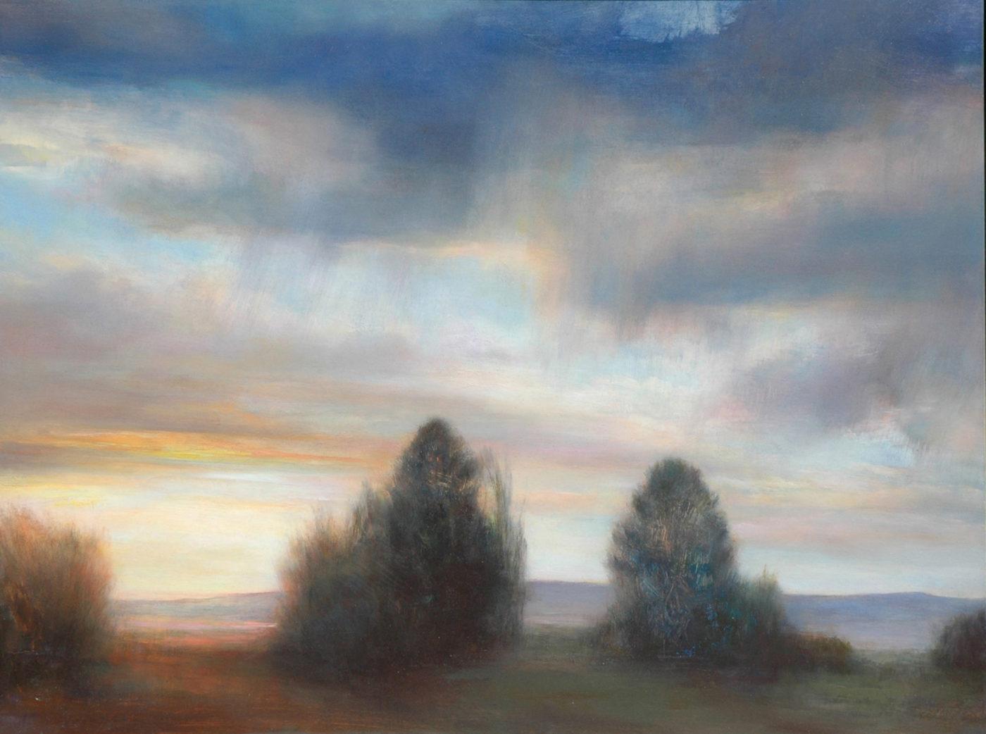 SUZANNE WIGGIN oil landscapes