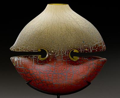 Peter Wright Glass Sculpture