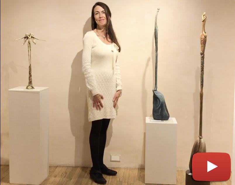Alex Watts talks about the inspiration behind her stunning bronze sculptures