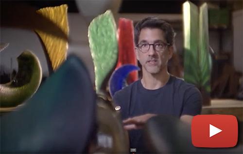 Alex Bernstein talks about becoming an artist & his deep love for glass