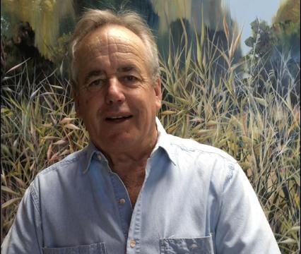 Studio visit with artist Charlie Burk