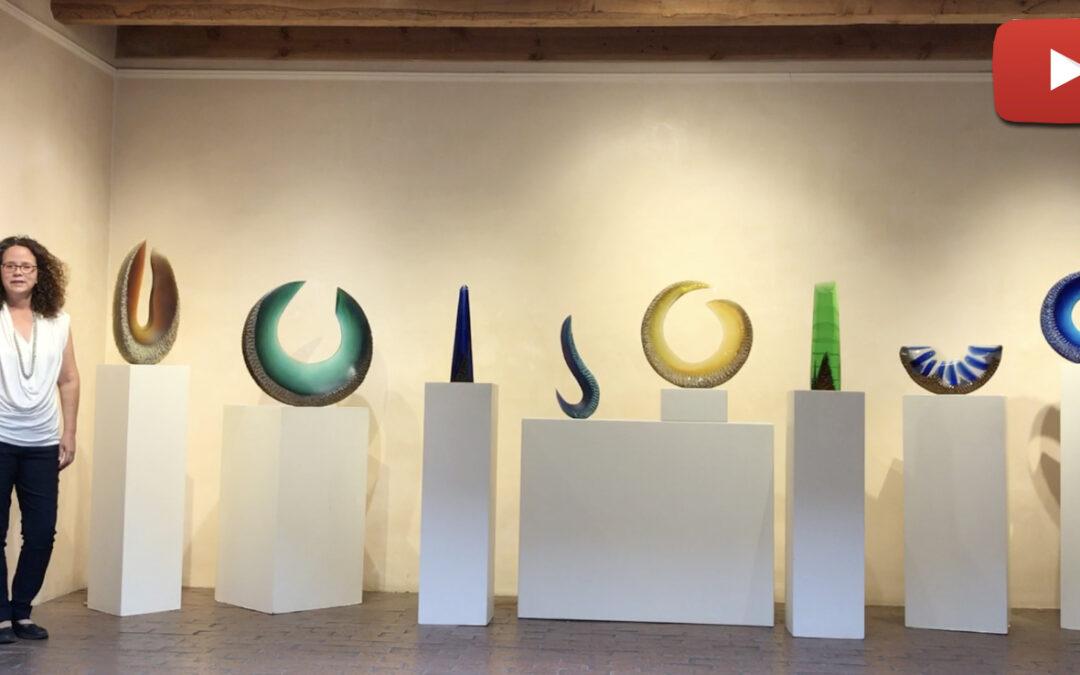 New glass sculptures by Alex Gabriel Bernstein – Virtual tour