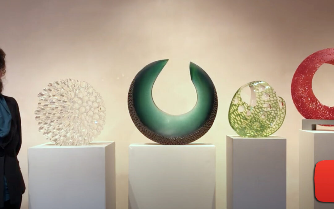 See our glass sculptures on exhibit and take a peek inside the artists' studios