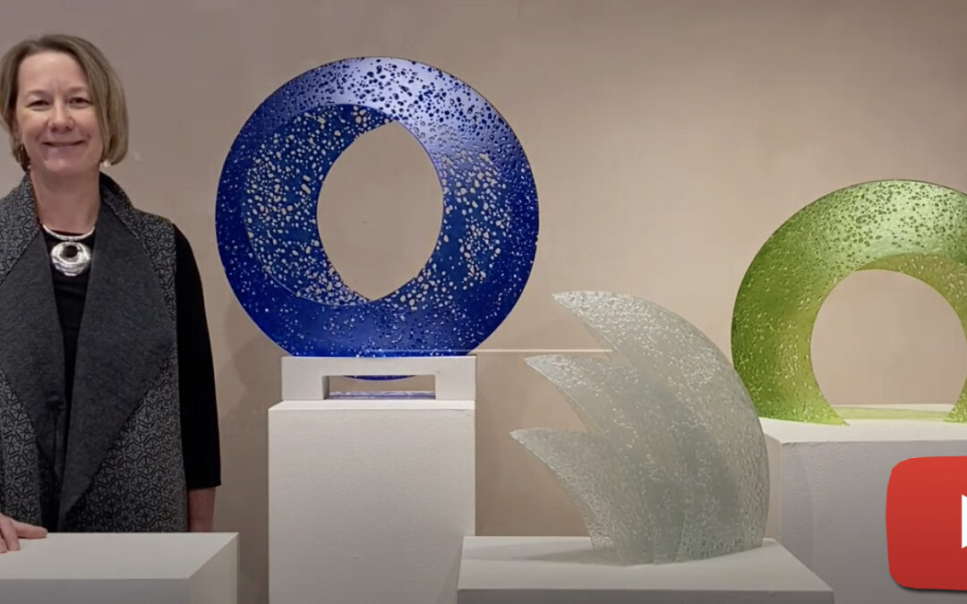 Karen Bexfield shares her process & the inspiration behind her newest sculptures