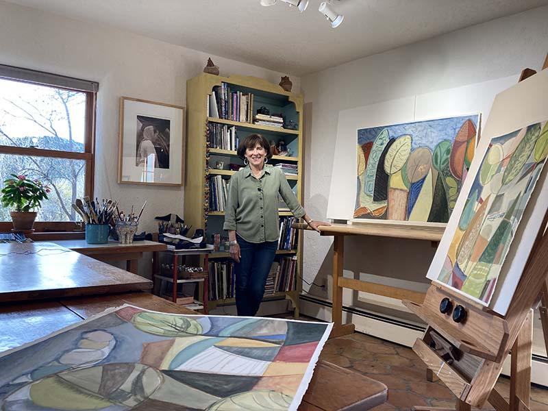 Studio tour with artist Sarah Bienvenu